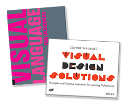 My books-Visual Language for Designers and Visual Design Solutions